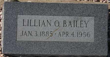 BAILEY, LILLIAN O. - Maricopa County, Arizona   LILLIAN O. BAILEY - Arizona Gravestone Photos