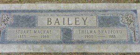 BAILEY, THELMA BRADFORD - Maricopa County, Arizona | THELMA BRADFORD BAILEY - Arizona Gravestone Photos