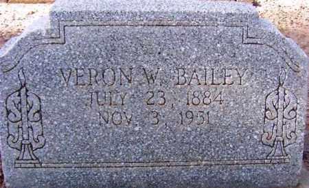 BAILEY, VERON W. - Maricopa County, Arizona | VERON W. BAILEY - Arizona Gravestone Photos