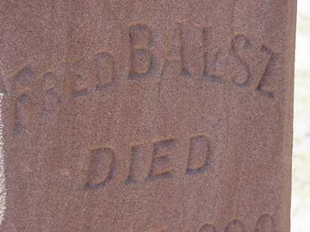 BALSZ, FRED, JR - Maricopa County, Arizona   FRED, JR BALSZ - Arizona Gravestone Photos