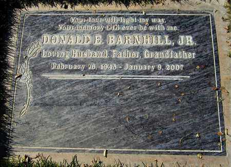 BARNHILL, DONALD E, JR - Maricopa County, Arizona | DONALD E, JR BARNHILL - Arizona Gravestone Photos