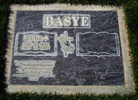 BASYE, LYNDA S. - Maricopa County, Arizona | LYNDA S. BASYE - Arizona Gravestone Photos