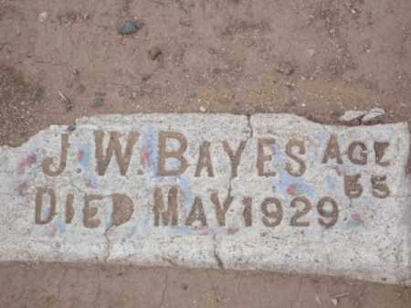 BAYES, JAMES WESLEY - Maricopa County, Arizona | JAMES WESLEY BAYES - Arizona Gravestone Photos