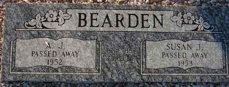 BEARDEN, SUSAN JANE - Maricopa County, Arizona | SUSAN JANE BEARDEN - Arizona Gravestone Photos