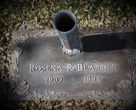 BEARDEN, ROSENA R. - Maricopa County, Arizona | ROSENA R. BEARDEN - Arizona Gravestone Photos