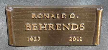 BEHRENDS, RONALD G. - Maricopa County, Arizona | RONALD G. BEHRENDS - Arizona Gravestone Photos