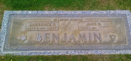 BENJAMIN, JANE R - Maricopa County, Arizona | JANE R BENJAMIN - Arizona Gravestone Photos