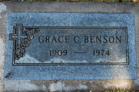 BENSON, GRACE C. - Maricopa County, Arizona | GRACE C. BENSON - Arizona Gravestone Photos