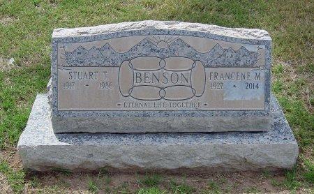 BENSON, STUART THOMAS - Maricopa County, Arizona | STUART THOMAS BENSON - Arizona Gravestone Photos