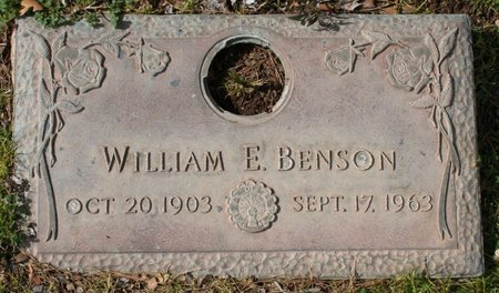 BENSON, WILLIAM EARL - Maricopa County, Arizona | WILLIAM EARL BENSON - Arizona Gravestone Photos
