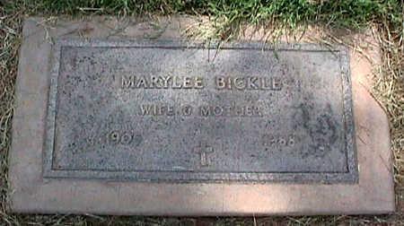 BICKLE, MARYLEE - Maricopa County, Arizona | MARYLEE BICKLE - Arizona Gravestone Photos