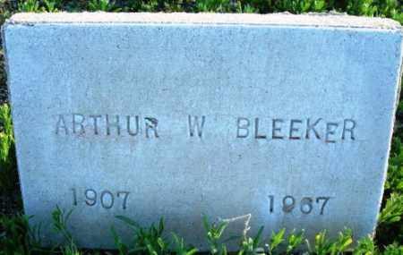 BLEEKER, ARTHUR W. - Maricopa County, Arizona   ARTHUR W. BLEEKER - Arizona Gravestone Photos