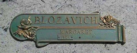 BLOZAVICH, MARGARET - Maricopa County, Arizona | MARGARET BLOZAVICH - Arizona Gravestone Photos