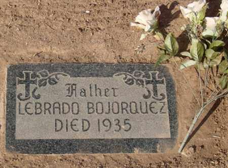 BOJORQUEZ, LIBRADO - Maricopa County, Arizona | LIBRADO BOJORQUEZ - Arizona Gravestone Photos