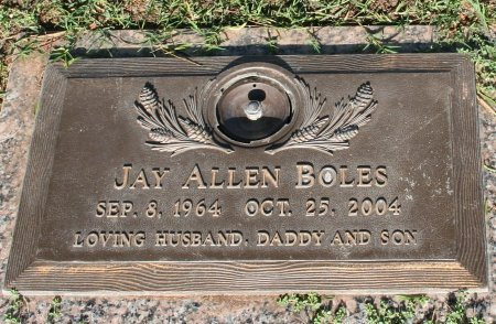 BOLES, JAY ALLEN - Maricopa County, Arizona | JAY ALLEN BOLES - Arizona Gravestone Photos