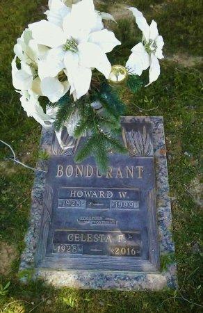 BONDURANT, HOWARD W. - Maricopa County, Arizona | HOWARD W. BONDURANT - Arizona Gravestone Photos
