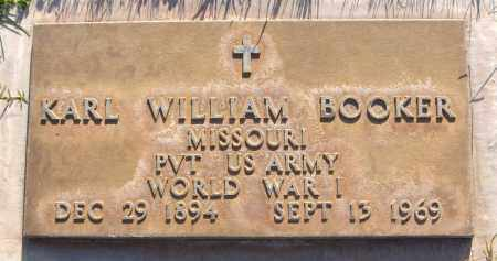 BOOKER, KARL WILLIAM - Maricopa County, Arizona | KARL WILLIAM BOOKER - Arizona Gravestone Photos