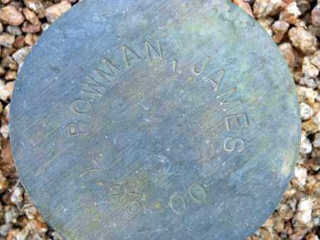 BOWMAN, JAMES - Maricopa County, Arizona   JAMES BOWMAN - Arizona Gravestone Photos