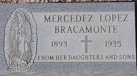 BRACAMONTE, MERCEDEZ LOPEZ - Maricopa County, Arizona   MERCEDEZ LOPEZ BRACAMONTE - Arizona Gravestone Photos