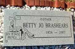 BRASHEARS, BETTY JO - Maricopa County, Arizona | BETTY JO BRASHEARS - Arizona Gravestone Photos