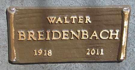 BREIDENBACH, WALTER - Maricopa County, Arizona | WALTER BREIDENBACH - Arizona Gravestone Photos