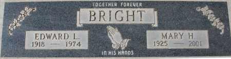 BRIGHT, EDWARD L - Maricopa County, Arizona | EDWARD L BRIGHT - Arizona Gravestone Photos