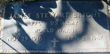 BRIGHT, JAMES STEWART - Maricopa County, Arizona | JAMES STEWART BRIGHT - Arizona Gravestone Photos