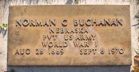 BUCHANAN, NORMAN C. - Maricopa County, Arizona | NORMAN C. BUCHANAN - Arizona Gravestone Photos