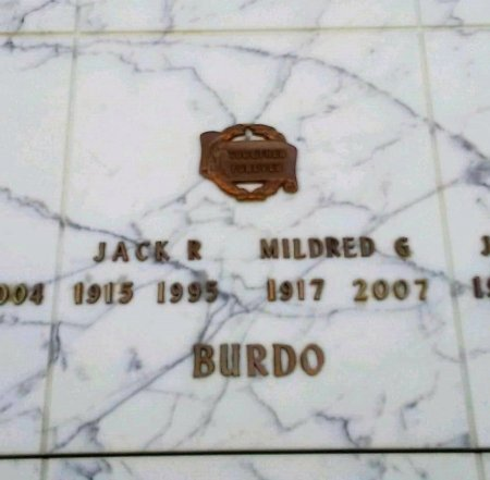 BURDO, MILDRED G. - Maricopa County, Arizona | MILDRED G. BURDO - Arizona Gravestone Photos