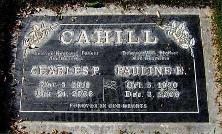 CAHILL, CHARLES P. - Maricopa County, Arizona | CHARLES P. CAHILL - Arizona Gravestone Photos