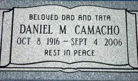 CAMACHO, DANIEL M. - Maricopa County, Arizona | DANIEL M. CAMACHO - Arizona Gravestone Photos