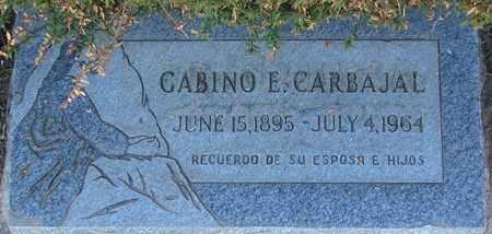 CARBAJAL, GABINO E. - Maricopa County, Arizona   GABINO E. CARBAJAL - Arizona Gravestone Photos
