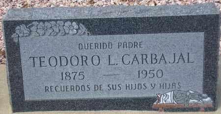CARBAJAL, TEODORO L. - Maricopa County, Arizona | TEODORO L. CARBAJAL - Arizona Gravestone Photos