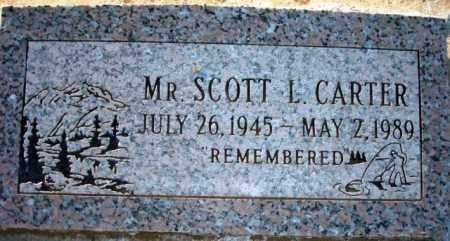 CARTER, MR. SCOTT L. - Maricopa County, Arizona | MR. SCOTT L. CARTER - Arizona Gravestone Photos