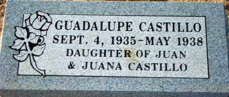 CASTILLO, GUADALUPE - Maricopa County, Arizona | GUADALUPE CASTILLO - Arizona Gravestone Photos