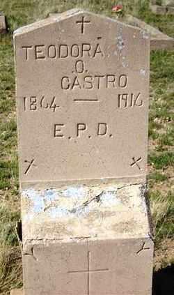 CASTRO, TEODORA O. - Maricopa County, Arizona | TEODORA O. CASTRO - Arizona Gravestone Photos