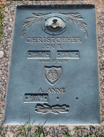 CHRISTOPHER, A ANNE - Maricopa County, Arizona | A ANNE CHRISTOPHER - Arizona Gravestone Photos