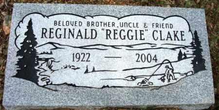 CLAKE, REGINALD (REGGIE) H. - Maricopa County, Arizona   REGINALD (REGGIE) H. CLAKE - Arizona Gravestone Photos
