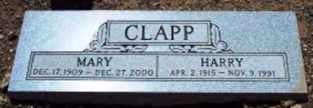 CLAPP, MARY - Maricopa County, Arizona | MARY CLAPP - Arizona Gravestone Photos