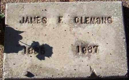 CLEMONS, JAMES FRANKLIN - Maricopa County, Arizona | JAMES FRANKLIN CLEMONS - Arizona Gravestone Photos