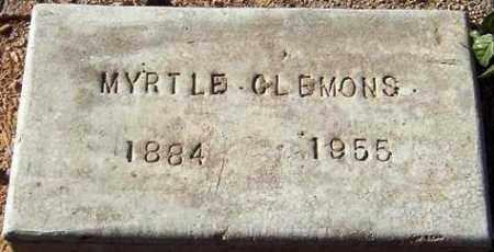 CLEMONS, MYRTLE - Maricopa County, Arizona | MYRTLE CLEMONS - Arizona Gravestone Photos