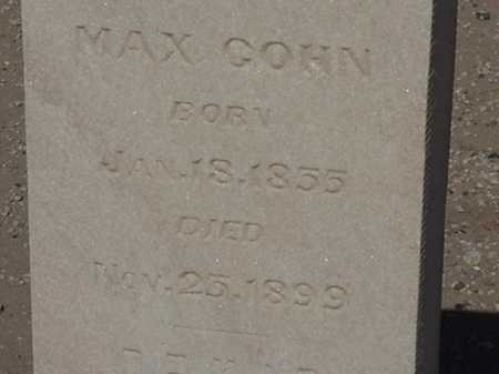 COHN, MAX - Maricopa County, Arizona | MAX COHN - Arizona Gravestone Photos