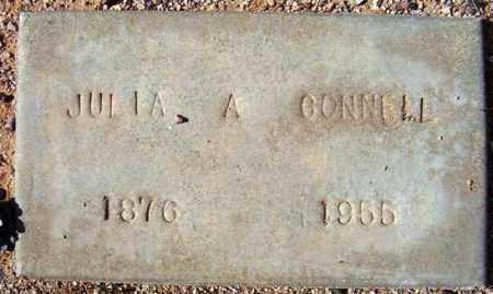 CONNELL, JULIA A. - Maricopa County, Arizona | JULIA A. CONNELL - Arizona Gravestone Photos