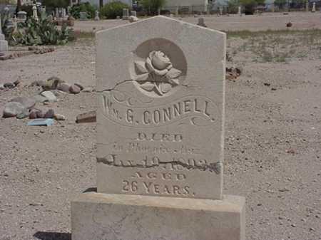 CONNELL, WILLIAM G - Maricopa County, Arizona | WILLIAM G CONNELL - Arizona Gravestone Photos