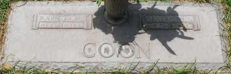 COON, RAYMOND E. - Maricopa County, Arizona   RAYMOND E. COON - Arizona Gravestone Photos
