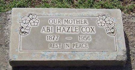 COX, ABI - Maricopa County, Arizona   ABI COX - Arizona Gravestone Photos