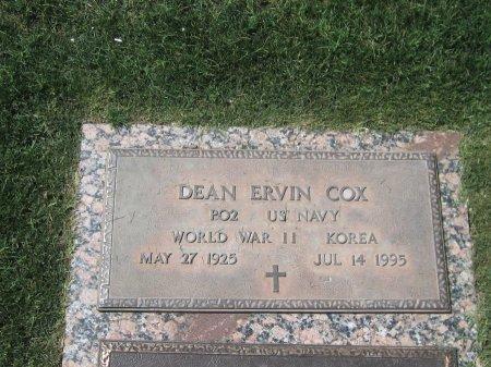 COX, DEAN ERVIN - Maricopa County, Arizona | DEAN ERVIN COX - Arizona Gravestone Photos