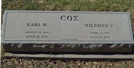 COX, EARL W. - Maricopa County, Arizona | EARL W. COX - Arizona Gravestone Photos