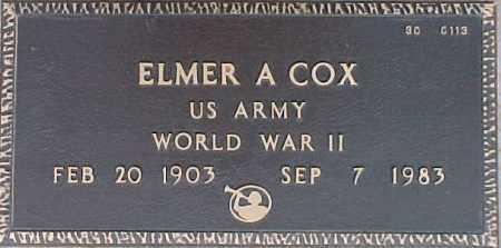 COX, ELMER A. - Maricopa County, Arizona | ELMER A. COX - Arizona Gravestone Photos