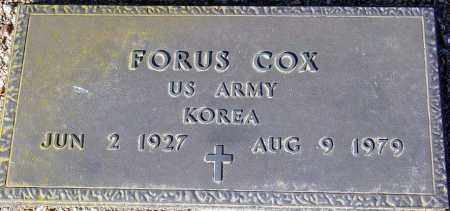 COX, FORUS - Maricopa County, Arizona   FORUS COX - Arizona Gravestone Photos